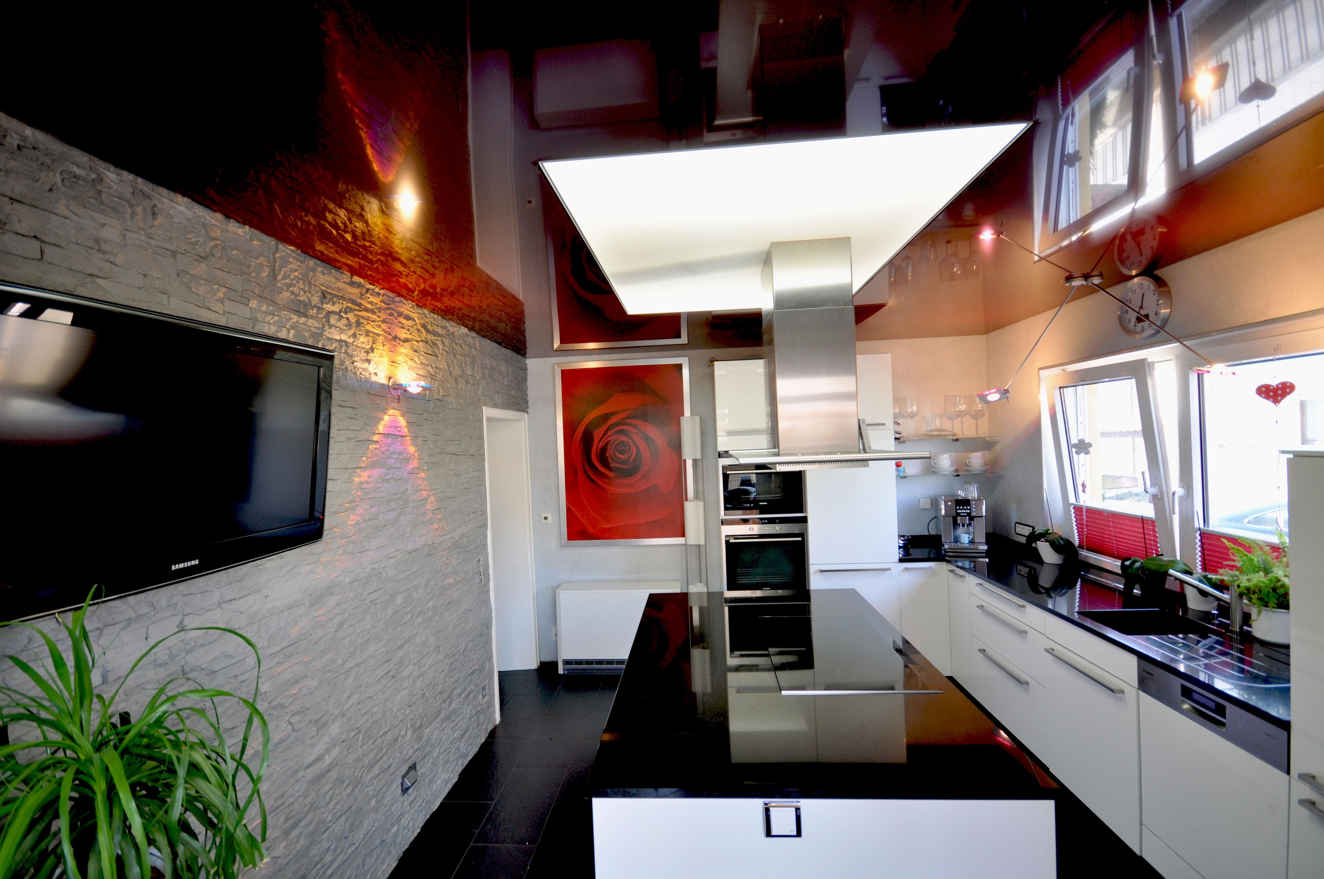 spanndecken in der k che spanndecken duesseldorf dortmund. Black Bedroom Furniture Sets. Home Design Ideas