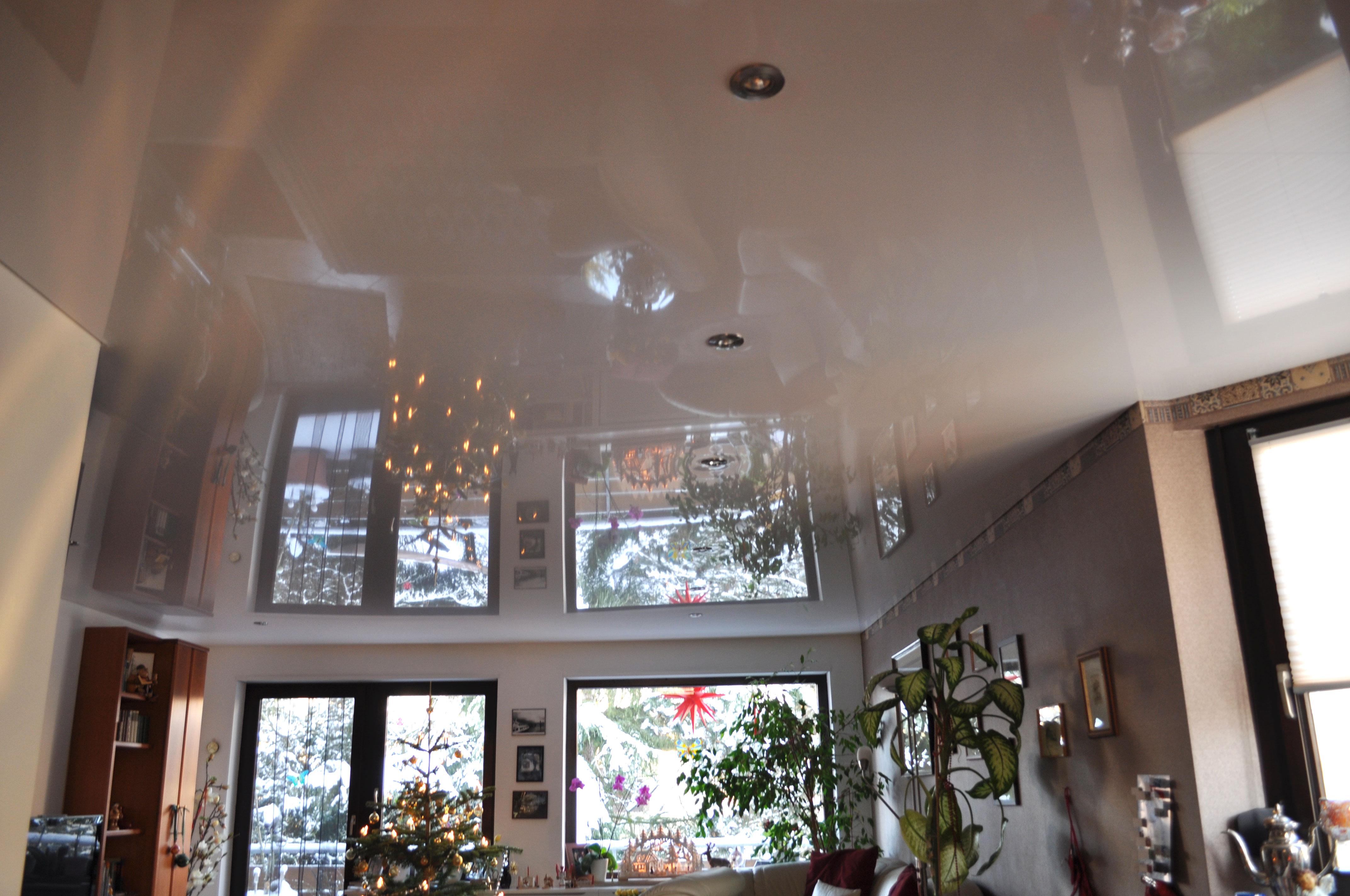 spanndecken im wohnzimmer spanndecken duesseldorf dortmund. Black Bedroom Furniture Sets. Home Design Ideas