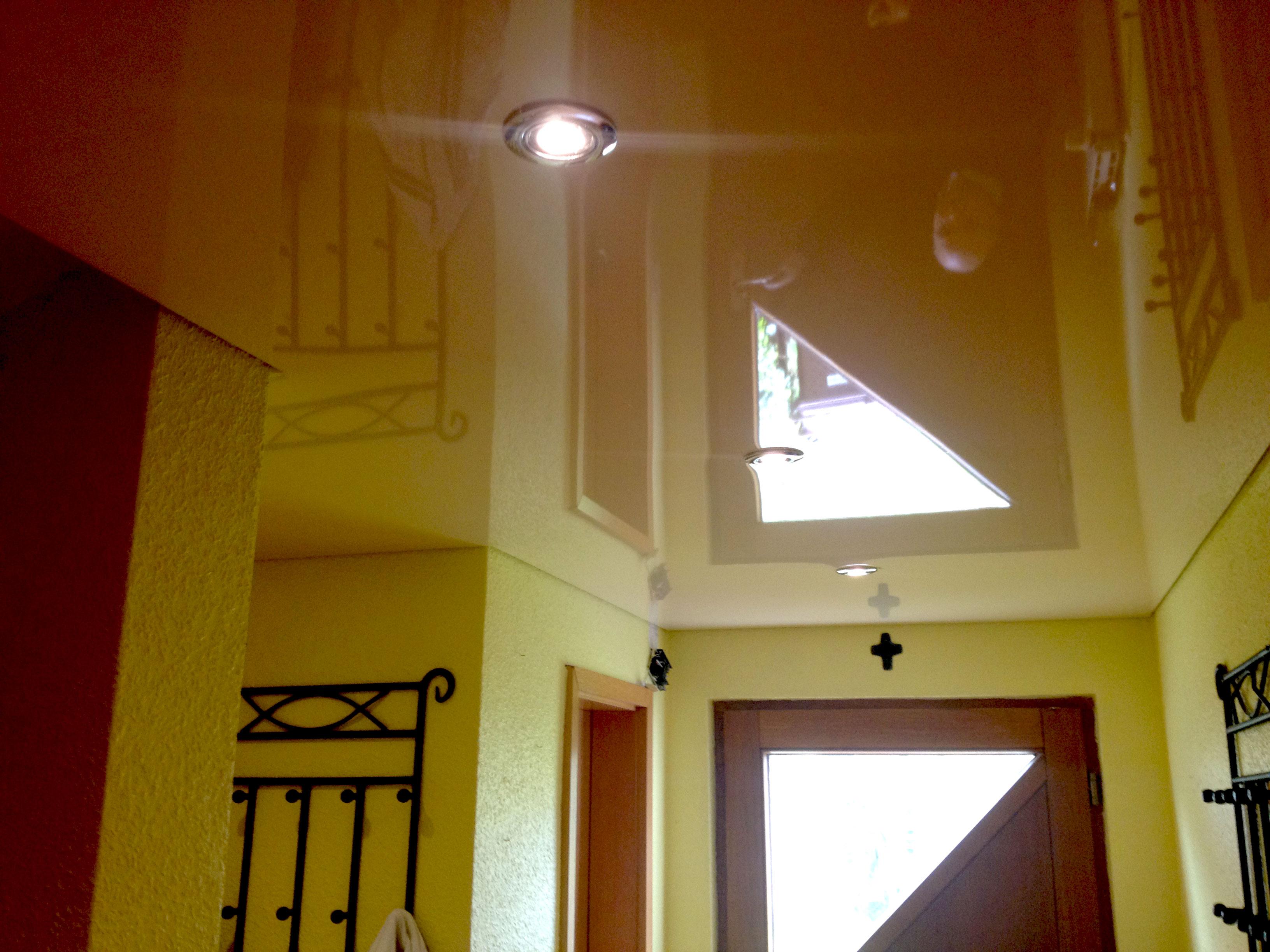 spanndecken im diele spanndecken duesseldorf dortmund. Black Bedroom Furniture Sets. Home Design Ideas